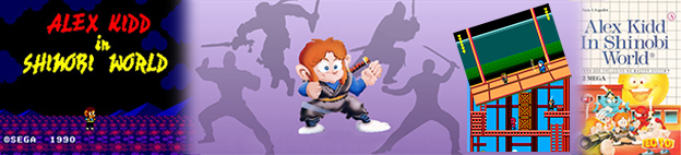 #14 - Alex Kidd in Shinobi World